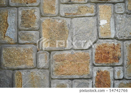 Stone wall texture background natural color. 54742766