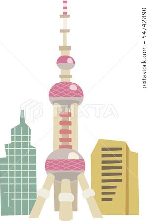 Oriental Pearl Electric tower 54742890