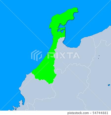 Ishikawa Prefecture Map 54744881
