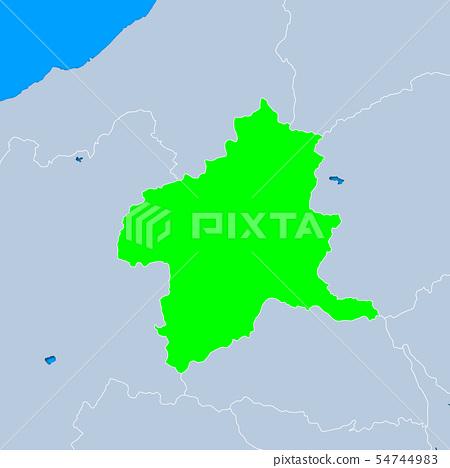 Gunma Prefecture Map 54744983