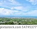 오키나와 푸른 하늘 이시가키 섬 54745377