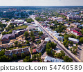 Aerial view of Yegoryevsk 54746589