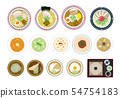 Noodles illustration set 54754183