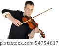 Violin player 54754617