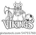 Viking Female Gladiator Soccer Warrior Woman 54755760