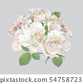 Bouquet of roses 5 54758723