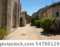 The medieval village of Ruoms in the Ardeche 54760129
