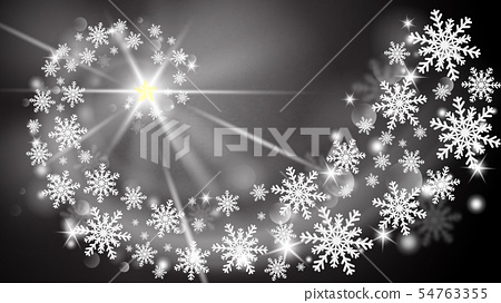 Merry Christmas and Happy new year greeting card 54763355