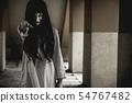 Halloween or horror concept, Women dressed in 54767482