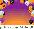 萬聖夜氣球框架_簡單 54767880