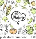 100 Percent Natural Meal, Veggies Vegetables Set 54768130