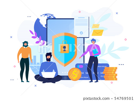 Personal Data Internet Security Advertising Poster 54769501