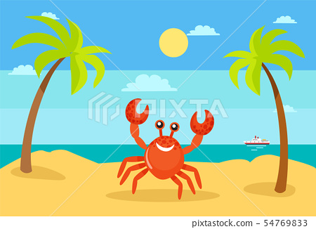Summer Holiday, Vacation Summertime, Crab Coast 54769833