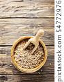 Uncooked pearl barley 54772976
