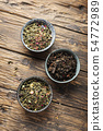 Set of different tea 54772989
