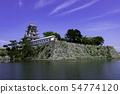 Imabari Castle Ishigaki and Tenshukaku Mizushiro Ehime Prefecture Imabari City 54774120