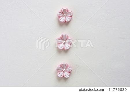 일본식 안주 세공 꽃 핑크 54776829