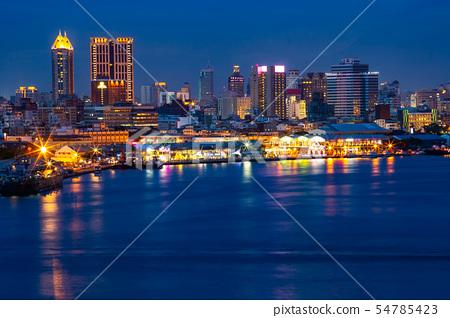 臺灣高雄港旗津景色Kaohsiung Port, Taiwan, Asia Landscape 54785423