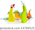 Cleaning product plastic container for house clean 54789525