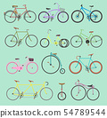 Retro bike vintage old-fashioned girls and hipster transport ride vehicle bicycles summer 54789544