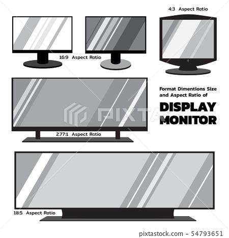 2D flat monitors 54793651