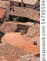 Roofs top in village, Provence, France 54795594