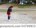 Bunker shot 54799833