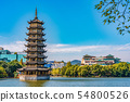 Traditional Chinese Pagoda 54800526