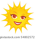 Hot Summer Sun 54802572