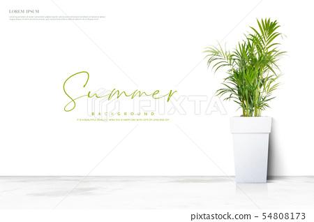 例證,夏天,背景 54808173