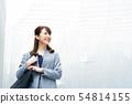 여성 비즈니스 이미지 오피스 레이디 54814155