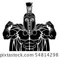 Spartan Trojan Sports Mascot 54814298