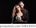 vampire, couple, woman 54819354