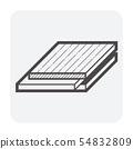 wood floor icon 54832809