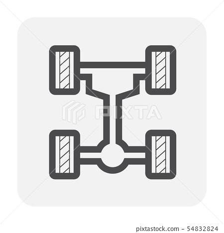 car test icon 54832824