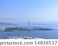 오사카 도시 풍경 · 오사카 항 (남항) 54836537