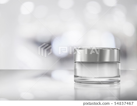 cosmetic cream pot 54837467
