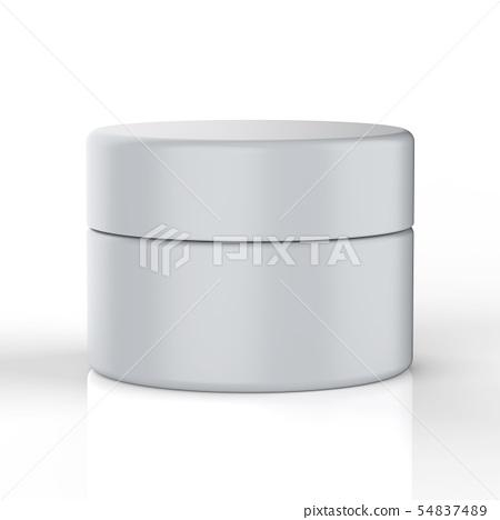 cosmetic cream pot 54837489