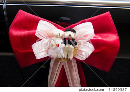 對件丶迪Bearin日本紅粉日本紅粉熱情蝴蝶在婚禮堂,婚車上(婚姻,婚姻,婚姻,好運) 54840387