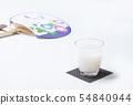 Chilled sweet sake drink health drink drink drip image material 54840944