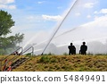 Firefighters at the flood in Magdeburg 54849491