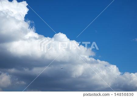 파란하늘과 구름 54850830