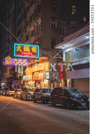 Hong Kong Night view 54853701