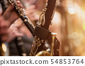 clarinet during a classical concert music 54853764