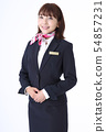 일하는 여성 54857231