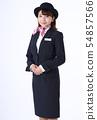 일하는 여성 54857566