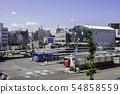 JR 다카마쓰 역 버스 터미널 버스 승강장 가가 와현 다카마쓰시 54858559