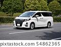 Car driving minivan 54862365