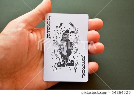 撲克牌小丑 54864329