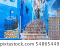 Beautiful blue medina of Chefchaouen town in Morocco Africa. 54865449